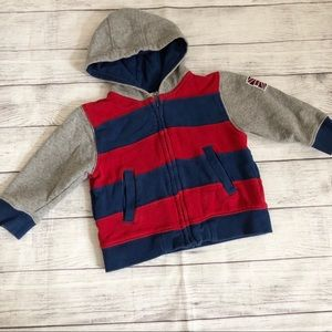 Gymboree Great Britain red/blue hoodie